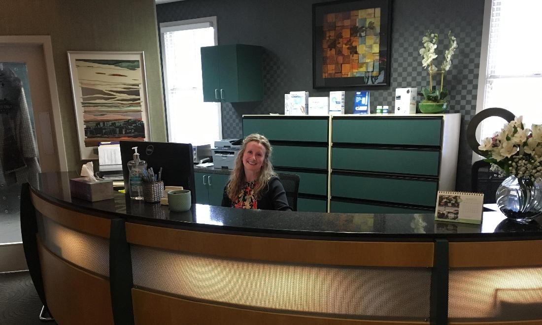 Harmony Dental Wellness Front Desk