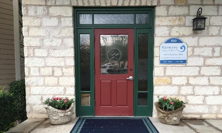 Harmony Dental Wellness Entryway